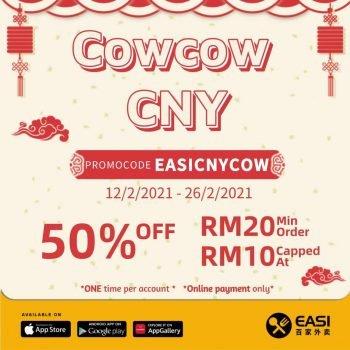 EASI 百家% 50% Kod Baucar Tahun Baru Cina