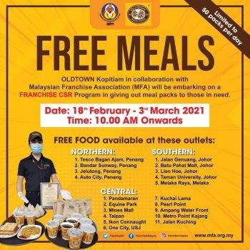 Pemberian Makanan Percuma CSR OLDTOWN