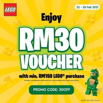 LEGO Online Kod Baucar RM30 Percuma