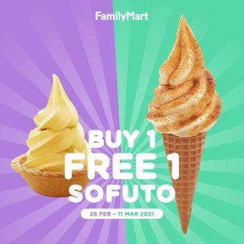FamilyMart Beli 1 tawaran 1 Sofuto Percuma