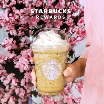 Minuman buatan tangan bersaiz Starbucks Grande dengan Promosi RM13 Mac sahaja