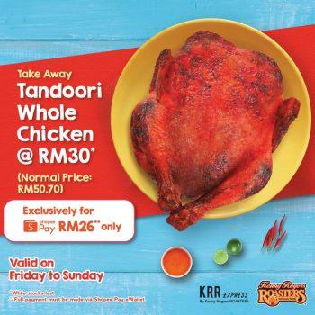 Ayam Seluruh KRR Tandoori Dengan Harga RM26 sahaja