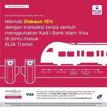 Tiket Transit KLIA Diskaun 15% Tambahan