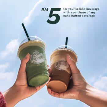 Minuman kedua Starbucks dengan harga RM5 setiap hujung minggu