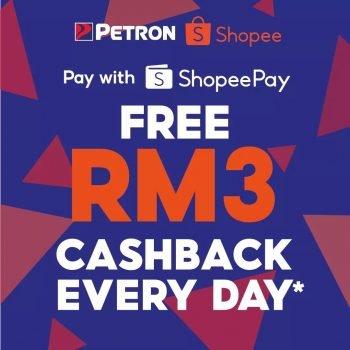 Pulangan Tunai RM3 Percuma Petron Setiap Hari