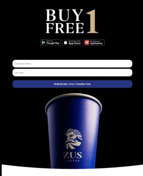 Promosi ZUS Coffee Buy 1 Percuma 1