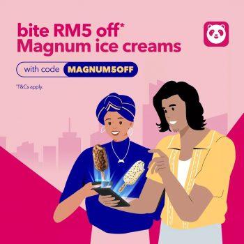 Magnum Ice Cream Diskaun RM5 Tambahan