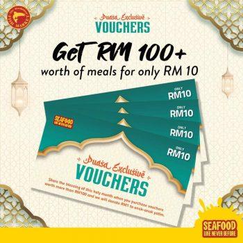 Dapatkan RM100 Makanan Manhattan FISH MARKET Dengan Harga Rm10 sahaja