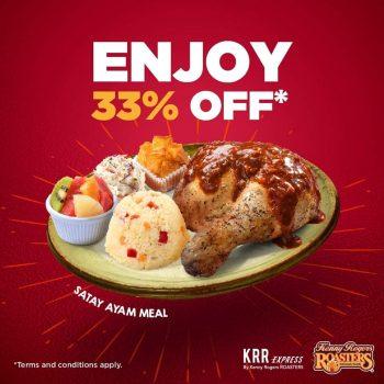 Makanan KRR Diskaun 33% Tambahan dengan Kod Promosi