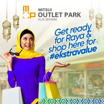 MITSUI OUTLET PARK x PROMO Touch 'n go eWallet RAYA