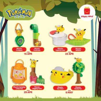 Mainan & Koleksi Pokémon Happy Meal Percuma dari McDonald's