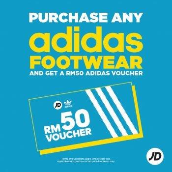 Baucar Adidas RM50 Percuma JD Sports