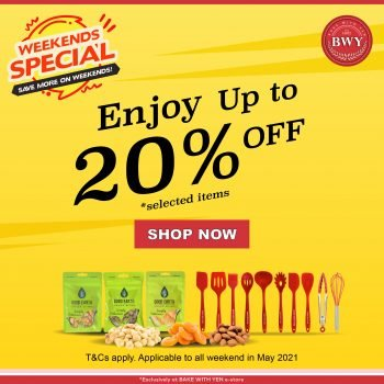 Bake With Yen Weekend Special on Baking Supplies