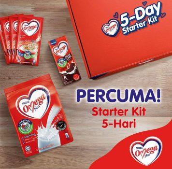 Hadiah Permulaan Nestlé Omega Plus Starter Kit