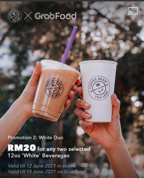 Minuman Promo Coffee Bean & Tea Leaf serendah RM15