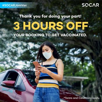 Promosi Pemacu Vaksinasi SOCAR