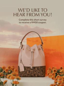 Selesaikan tinjauan BONIA dengan Baucar RM50 Percuma