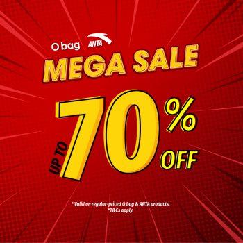 Beg O & ANTA - DISKAUN sehingga 70%