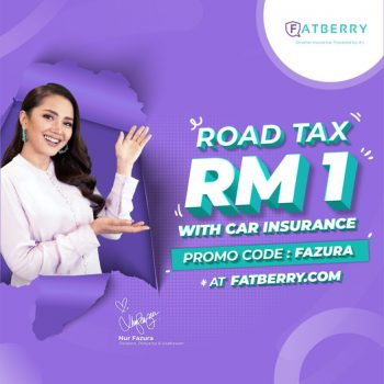 Dapatkan cukai jalan anda dengan hanya RM1 dengan setiap pembaharuan insurans