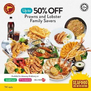 Udang Manhattan Family Prawns dan Lobster Savers Diskaun 50%