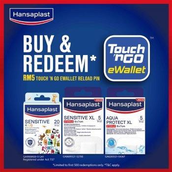 Hansaplast: Dapatkan Pin Muat Semula eWallet TNG RM5