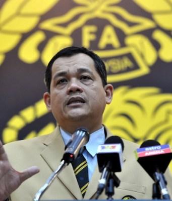 Presiden FAM, Datuk Hamidin Mohd. Amin
