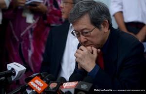 Orang yang menggelar saya anjing itulah anjing sebenarnya, kata Dr. Tan Seng Giaw, penyandang Parlimen, Kepong.