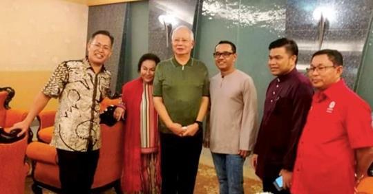 Polis Kedah mengetahui yang Datuk Seri Najib Tun Razak dan isteri Datin Seri Rosmah Mansor serta keluarga mereka bercuti di Langkawi, kata Ketua Polis Kedah Datuk Zainal Abidin Kasim.