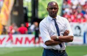 Patrick Vieira akan membimbing Nice yang menamatkan saingan Ligue 1 pada musim lalu di tempat kelapan.