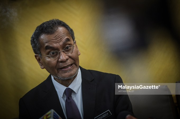 Menteri Kesihatan, Dr. Dzulkefly Ahmad.
