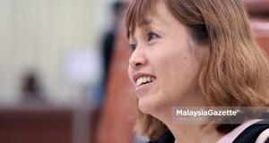 Timbalan Menteri Pendidikan, Teo Nie Ching ketika menghadiri sesi perbahasan di Dewan Rakyat, Bangunan Parlimen, Kuala Lumpur. foto FAREEZ FADZIL, 06 OGOS 2018