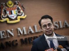 Timbalan Menteri Belia dan Sukan yang juga Ahli Parlimen Bukit Mertajam, Steven Sim Chee Keong pada Sidang Dewan Rakyat di Bangunan Parlimen, Kuala Lumpur. foto HAZROL ZAINAL, 02 OGOS 2018.