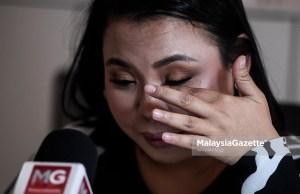 Anak kepada Jutawan Kosmetik iaitu Allahyarham Datuk Sosilawati Lawiya, Rita Sosilawati tidak dapat menahan sebak ketika ditemubual eksklusif mengenai isu hukuman mati di Platinum Walk, Danau Kota, Kuala Lumpur. foto AFFAN FAUZI, 16 NOVEMBER 2018