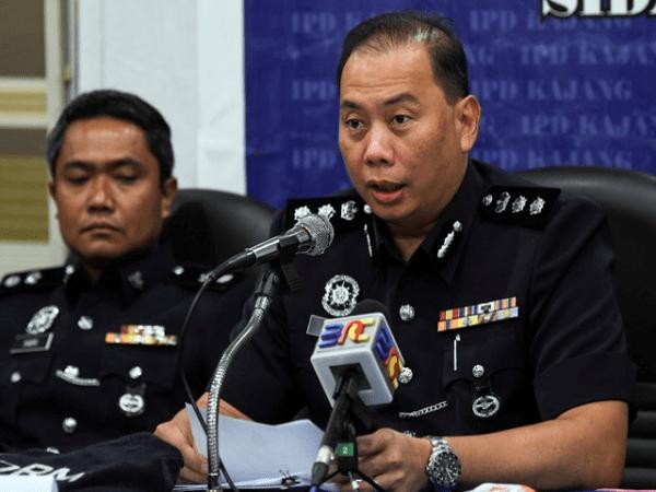 Ketua Polis Daerah Kajang ACP Ahmad Dzaffir Mohd Yussof