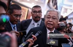 Datuk Seri Ismail Sabri. foto HAZROL ZAINAL, 13 MAC 2019