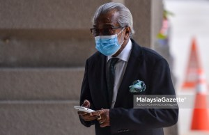 Datuk Seri Muhammad Shafee Abdullah. PXI: AZADI MOHAMAD ISKANDAR / MalaysiaGazette /28 AUGUST 2020. Anwar Ibrahim sodomy trial case remuneration payment Bukit Tunku Bungalow Najib Razak