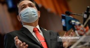 Covid-19 cases Ketua Pengarah Kesihatan Malaysia, Tan Sri Dr Noor Hisham Abdullah.