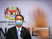 Director-General of Health Tan Sri Dr Noor Hisham Abdullah. PIX: MalaysiaGazette Covid-19 new cases Covid-19 deaths Covid-19 clusters education