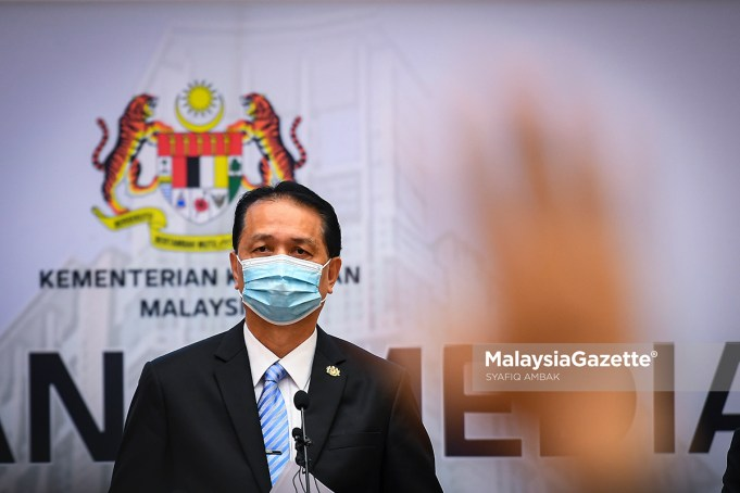 Director-General of Health Tan Sri Dr Noor Hisham Abdullah. PIX: MalaysiaGazette Covid-19 new cases Covid-19 deaths