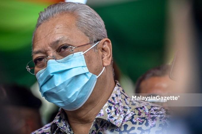 Dr. Muhammad Faiz Na'aman UMNO supreme Council meeting Janda Baik PPBM Parti Pribumi Bersatu Malaysia Minister of Federal Territories, Tan Sri Annuar Musa. PIX: AFIQ HAMBALI / MalaysiaGazette / 20 DECEMBER 2020.