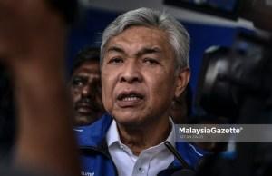 The Chairman of Barisan Nasional (BN), Datuk Seri Dr. Ahmad Zahid Hamidi. PIX: AFFAN FAUZI / MalaysiaGazette / 23 AUGUST 2020 parliament sitting MCO