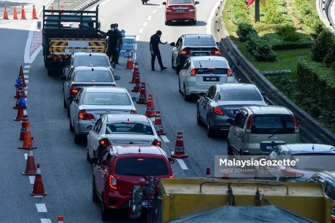 Six districts in Selangor will begin the third phase of Movement Control Order (MCO 3.0) from 6 - 17 May 2021. PIX: MalaysiaGazette