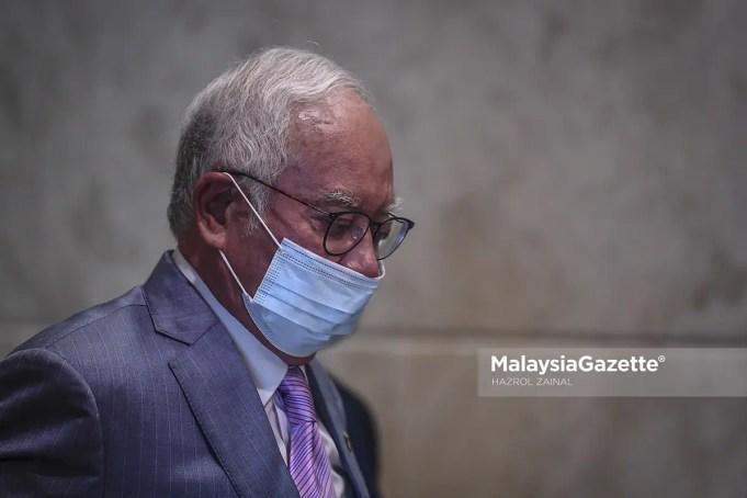 notice of bankruptcy Former Prime Minister Datuk Seri Najib Razak