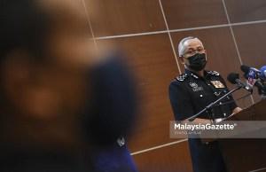 Inspector-General of Police Datuk Seri Acryl Sani Abdullah Sani. PIX: SYAFIQ AMBAK / MalaysiaGazette / 31 MAY 2021. Raub land encroachment musang king durian farmers Batu Talam permanent reserve forest