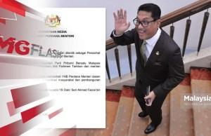 Ahmad Faizal Azumu Special Advisor Prime Minister Muhyiddin Yassin