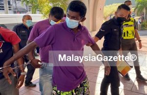 M. Kirubakaran is charged with the murder of Lee Ling Tee, 40 at the Butterworth Magistrate Court (Municipal) in Penang today. rape sodomy murder break in theft