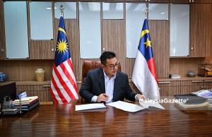 Datuk Seri Sulaiman Md Ali Chief Minister Melaka PPN Phase 2 National Recover Plan