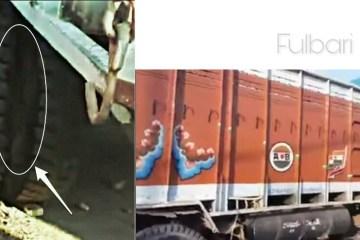 Fulbari Truck Killed 2 person