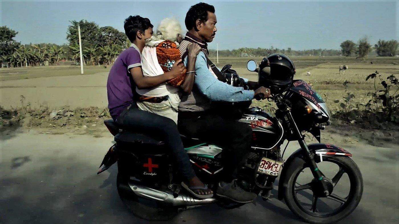 Karimul Haque - Bike Ambulance