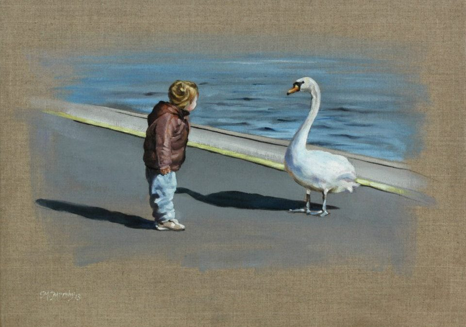 Child With Swan